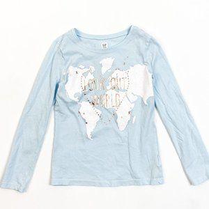 Gap Long Sleeve T-Shirt Medium